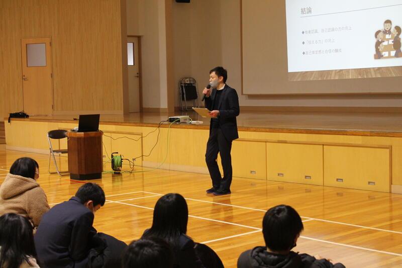 最後に学年主任から講評を頂きました。